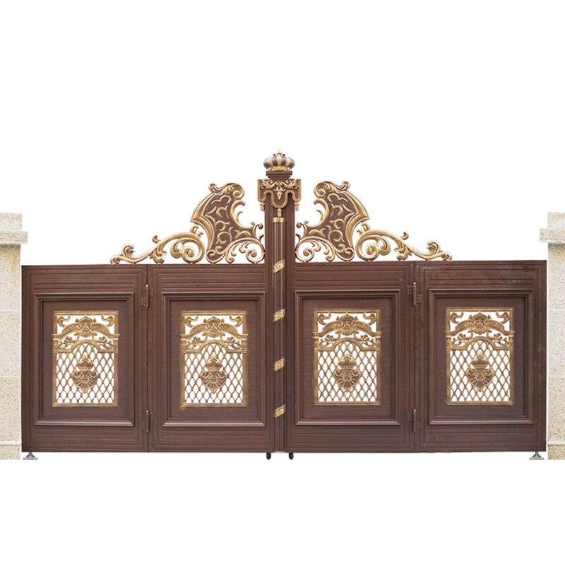 Luxury Modern Indian House Main Gate Designs & Aluminum Main Gate Hc-a12