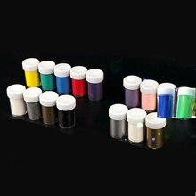 30ml/bottle 15 colors of embossed powder DIY handmade special,  Embossing Powder Paint Rubber stamp scrapbooking tools