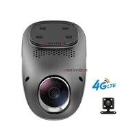 Không có Trang Trí 1080 P Android 5.1 Wifi 4 Gam DVR Ghi GPS ADAS Kép Len Máy Ảnh Mini Hidden automovil Xe DVR