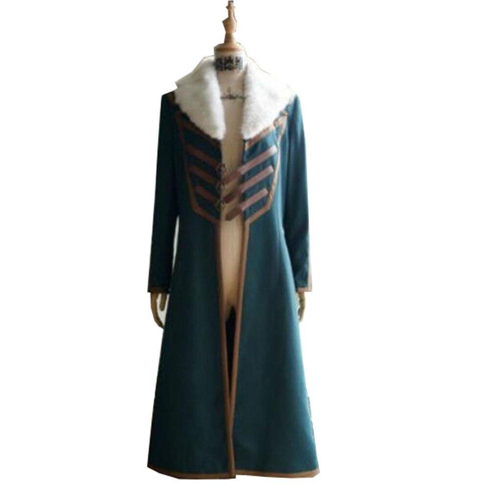 2018 Thor The Dark World Loki Cosplay Costume Intero Set di Cosplay Costume di Halloween Del Partito Solo Cappotto