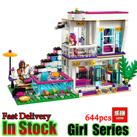 Lepin 01046 Girls Club Friends Livi S Pop Star House Building Blocks Compatible With Friends House