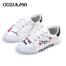 COZULMA Spring Kids Casual Shoes Sneakers Boys Girls Sport Shoes Toddler Little Kids Big Kids Boys Cute Sneakers Letters Shoes(China)
