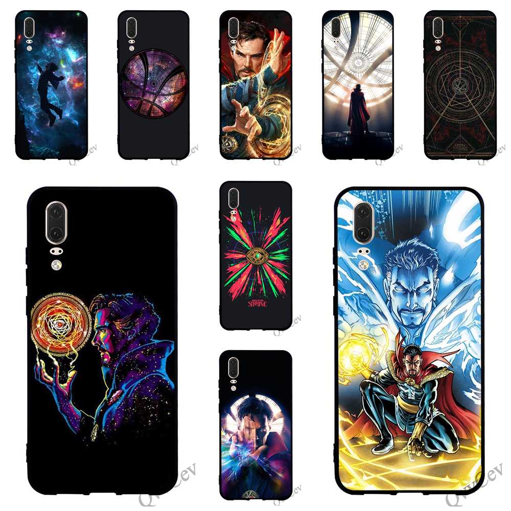 Doctor Strange Phone Cover For Huawei Mate 10 Pro Case 20 P8 P20 P10 P9 Lite Mini P Smart Tpu Cases Skin Punctual Timing Fitted Cases Painstaking Pattern Dr Phone Bags & Cases