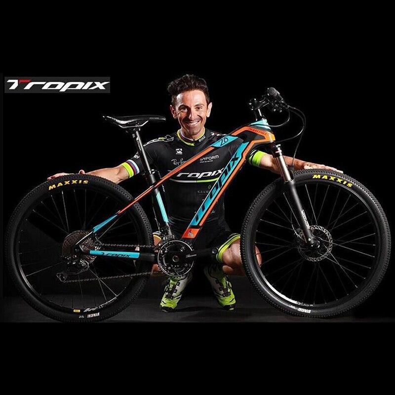 Горный Велосипед TROPIX 27 Скорости без Складной Велосипед 26 дюймов * 1.95 Мужская Велосипедов 4 цветов алюминиевого сплава Горы велосипед