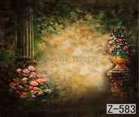 Загадочный Живописный фон z-583  10 футов X20 футов ручной росписью фон для фотосъемки  estudio fotografico  фоны для фотостудии
