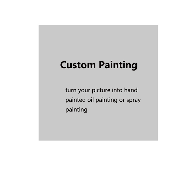 Custom Painting From Photographs Your Pictures Family Friends Pet Photos Favorite Handmade Oil Paintings Big Size