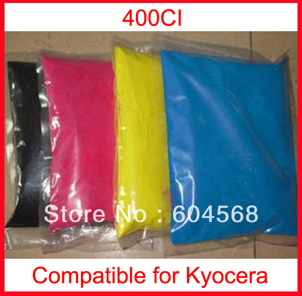 High quality color toner powder compatible kyocera 400ci Free Shipping high quality color toner powder compatible kyocera c5350dn free shipping