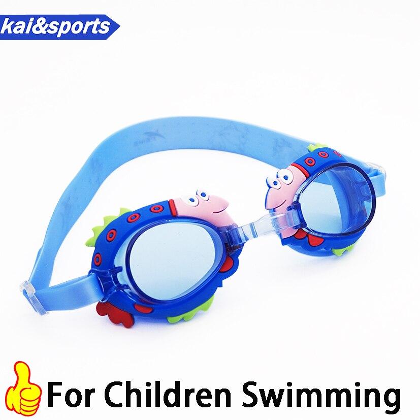 New Cartoon Kids Swimming Goggles Quality Silicone Children Swim Glasses boy girl baby eyewear for swimming pool