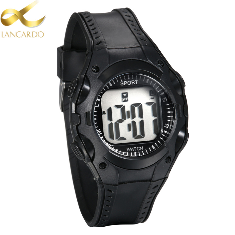 Permalink to Children's Watches Lancardo Brand Outdoor Sports Cheap Children Black Watch For Boy Girls Fashion Casual LED Digital Wristwatch