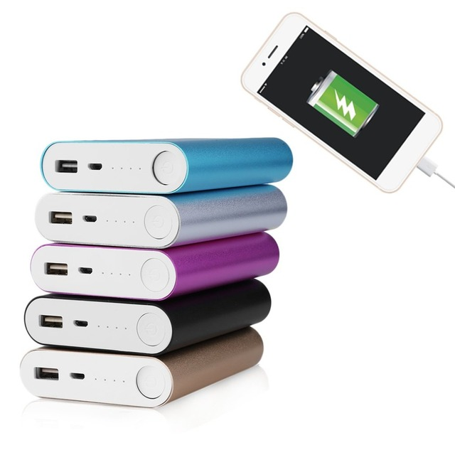 Power Bank Case 10400mAh Large Capacity USB External Backup Battery Charger 4*18650 Battery Power Bank Case Without Battery