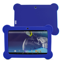 7 android 4   Yuntab 7 inch Q88 Allwinner A33 Quad Core 512MB/ 8GB Android 4.4.2 Kids Tablet PC HD Screen Dual camera with Silicone Case (5)