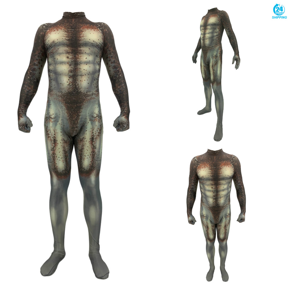3D Printing Predator Cosplay Costume 3D Printing Spandex Lycra Zentai Bodysuit Suit Jumpsuits  Jumpsuits & Rompers