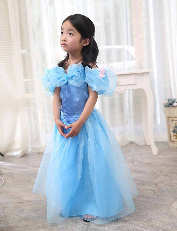 Womens Princess Cinderella Costume Book Week Halloween Fancy Dress Party Outfit