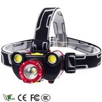 12000LM Rechargeable Led Headlamp CREE XM L T6 2 COB Head Flashlight Torch Cree Xml T6