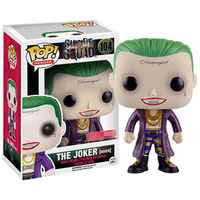 Exclusive Funko pop Official Suicide Squad - The Joker Boxer Vinyl Figure Collectible Model Toy with Original Box