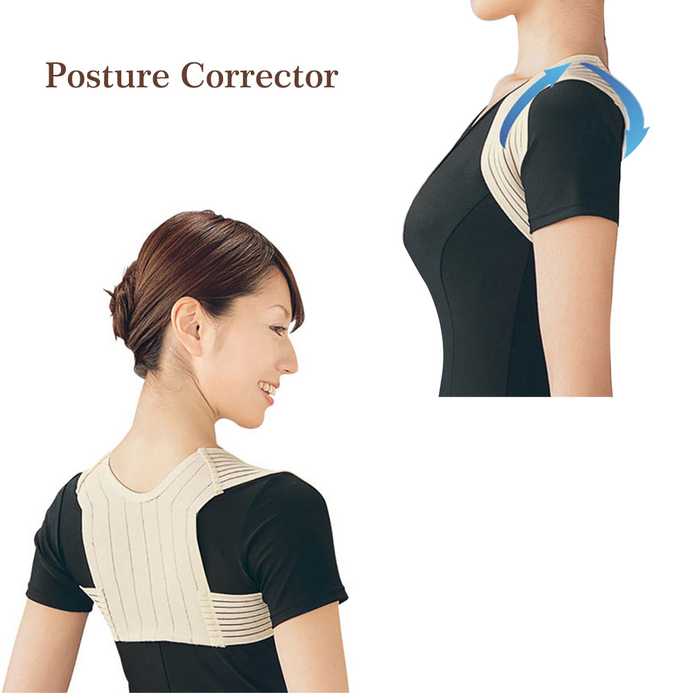 New Posture Corrector Brace Shoulder Back Support Belt Corset Back Bone Care Posture for Women