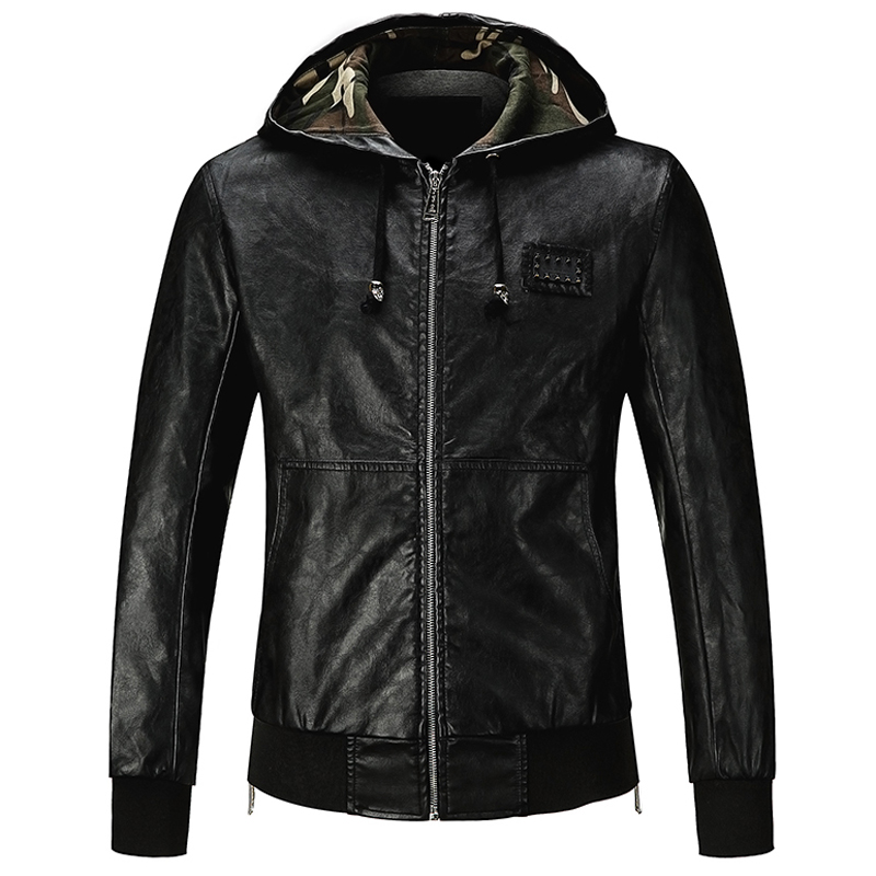 Online Get Cheap Hooded Leather Jackets -Aliexpress.com | Alibaba ...