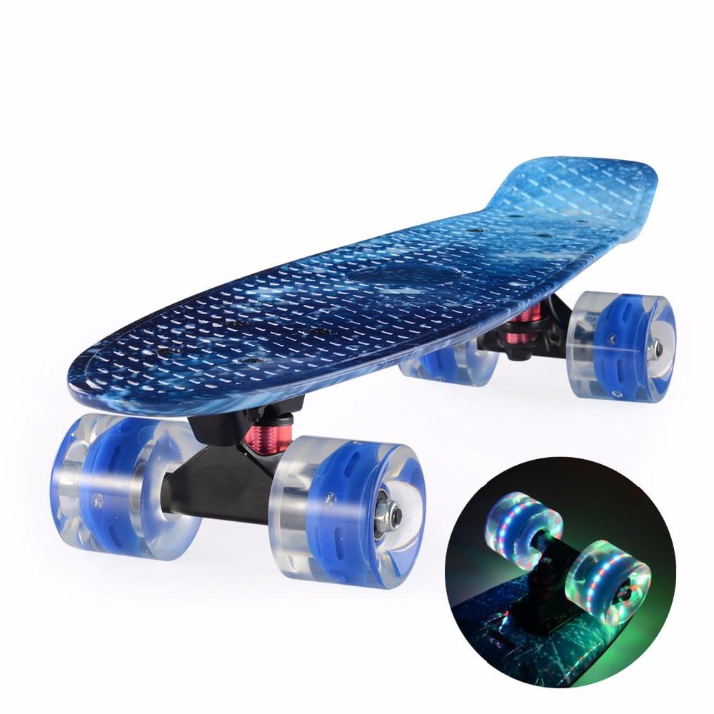 884632b2b16c8 CHI YUAN 22 polegada Placa Penny Board Skate Cruiser 22