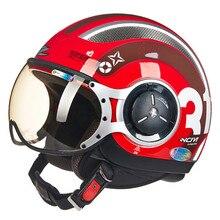 MOMO Style Chopper Pilot Motorcycle helmet Capacetes Motociclismo 218Z Cascos Para Moto Casque Motorhelm Open Face Helmets