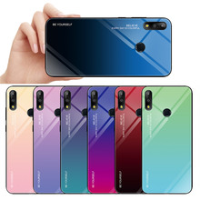 Gradient Tempered Glass Phone Case For ASUS Zenfone max pro m1 zb601kl zb602kl m2 zb631kl zb633kl Armor Case Cover Back Coque цены