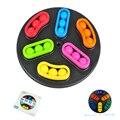 Nuevo Puzzle Cube Rotar Magic Kids Iq Cube Granos de la Bola Del Rompecabezas para Niños juguetes Educativos de Inteligencia Juguetes Juego