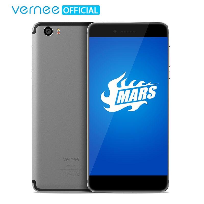 Vernee Mars 5.5 FHD Telefone Móvel Helio P10 MT6755 Octa Core-Android 7.0 Telefones Celulares 4G RAM 32G ROM 13.0MP Tipo de CAM-C Smartphones