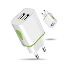 USB Charger for iPhone X XS 8 7 iPad Fast Wall Charger EU Adapter for Samsung S9 Xiaomi Redmi Note 7 Mi 8 Mobile Phone Charger(China)