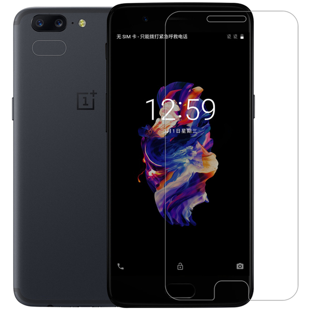 Oneplus 5 Glass Tempered Oneplus 5 Screen Protector Oneplus5 Glass A5000 Safety Film Touch Green Glass One Plus 5 Glass 5.5 inch