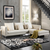 New Living Room Furniture European Style Chesterfield Fabric Sofa 3 Seater Modern