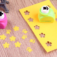 1 PC Child Mini Standard Stamp Printing Paper Hand Shaper Scrapbook Tags Cards Plastic metal Craft