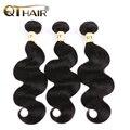 Queen hair products malasia pelo de la virgen la onda del cuerpo 8a sin procesar virginal malasio de la onda del cuerpo del pelo 3 unids remy manojos de cabello humano