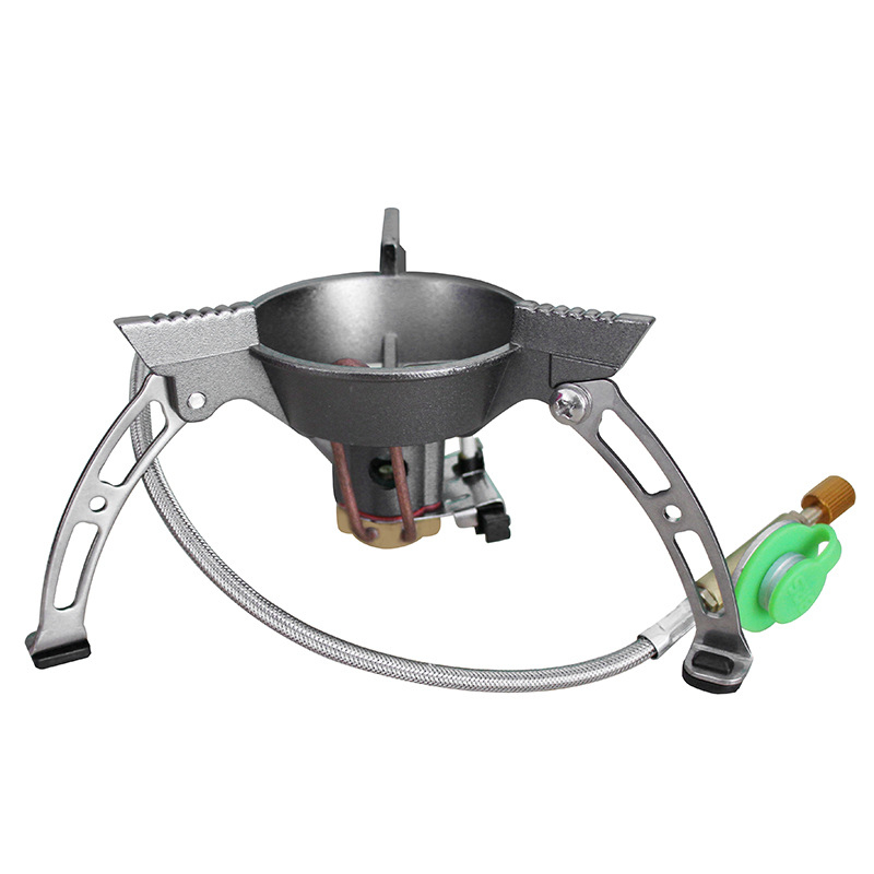 BRS Portable Outdoor Gas Stove Strong Firepower Picnic Camping Stove Gas Split Furnace for Fishing BBQ High Altitude point break outdoor camping cookware portable picnic stoves gas stove oven split type cs g18