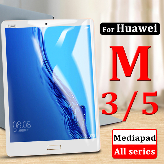 Tempered Tablet Glass On The For Huawei Mediapad M3 M5 8.4 8.0 10.1 10.8 inch M 3 5 Pro Lite Protect Media Pad M3lite M5pro Glas