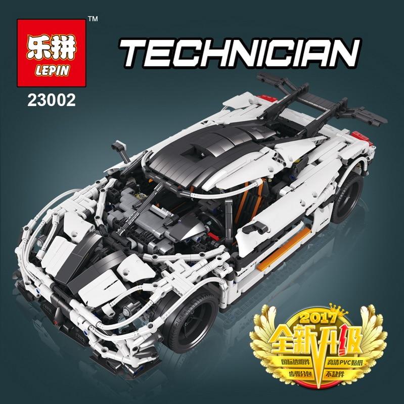 Lepin 23002 3236Pcs Technic Series The MOC-4789 Changing Racing Car Set Children Building Blocks Bricks Educational for Kid Toys цена