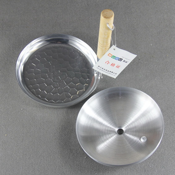 Aluminum pan Fried Small steamer Mini poacher bread frying pan muffin egg waffle frying pan