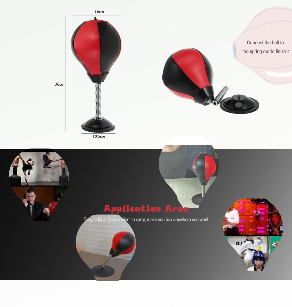 Desktop Punching Bag Stress Relief Boxing Ball 3