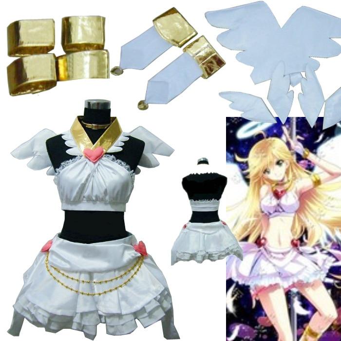Здесь продается  Anime Panty  and Stocking  Garterbelt Heroine Dress Cosplay Costume   Одежда и аксессуары