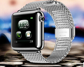 2016 L1 Iwatch IOS телефон Bluetooth watch GSM Sim-карты Для Android IOS С Телефон QQ Цифровой открытый