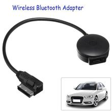 Автомобильный музыкальный интерфейс AMI MDI, USB Кабель адаптер Bluetooth, MP3 плеер для Audi/VW, портативный черный мини Bluetooth музыкальный аудиоресивер
