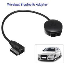 AMI w samochodzie MDI interfejs muzyczny adapter usb bluetooth kabel MP3 odtwarzacz dla Audi/VW przenośny mini czarny muzyka bluetooth Audio Receiv