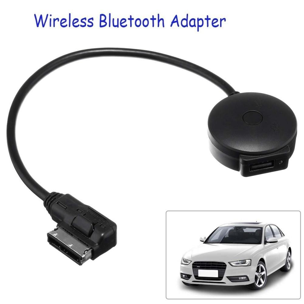 Voiture AMI MDI musique Interface USB Bluetooth adaptateur câble lecteur MP3 pour Audi/VW Portable mini noir Bluetooth musique Audio récepteur
