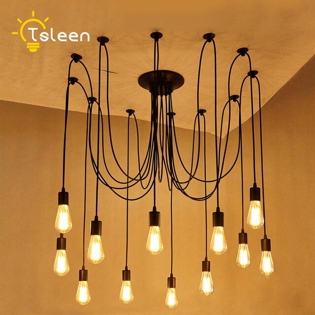 Tsleen vintage pendant lights 22m cable luminaire lamp loft e27 e26 tsleen vintage pendant lights 22m cable luminaire lamp loft e27 e26 hanglamp lustre lamparas for aloadofball Gallery