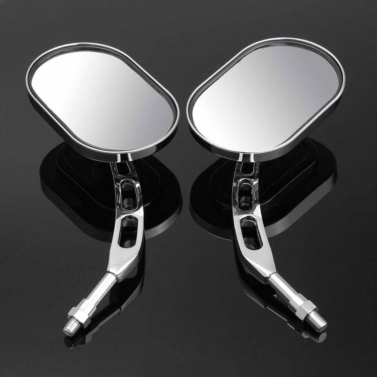 Motor Rear View Mirror Untuk Harley Davidson-/Softail/Springer/Heritage/Electra Glide