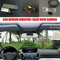 Car-styling HD CCD Auto Backup Camera + 5 inch LCD Car Rearview Mirror Monitor For Volkswagen VW Amarok / Robust 2010~2014