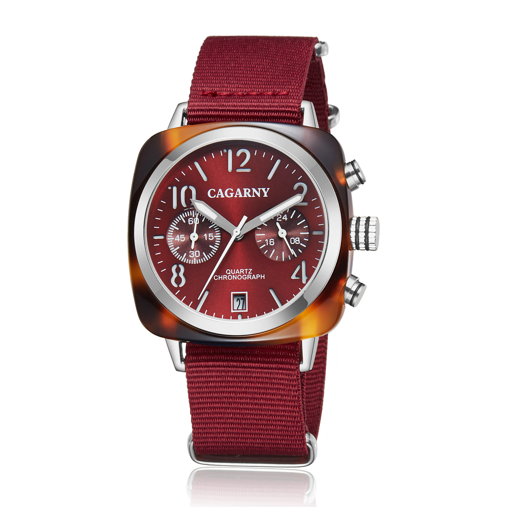 2019 Classic Chronograph Quartz Watches androgynous Fashion Watch His or Hers Wristwatch for Men Women Lovers Wedding Romantic Gift  (24)