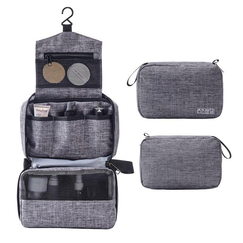 Women Necessaire Cosmetic Bag Travel Organizer Makeup Bags Waterproof Female Toiletries Make Up Case Portable Storage Bag