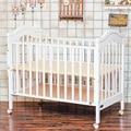 Европейского Типа Твердой Древесины Детская Кроватка Многофункциональный Удлиняют Детские Кроватки 3 Уровней Регулируемая Детская Деревянная Кровать C01