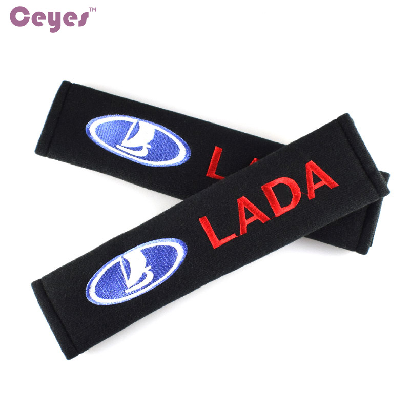 Image 3 - Ceyes Car Styling Car Accessories Case For Lada Kalina Priora Granta Samara 2110 Niva Stickers Car Styling Auto Protection Cover-in Car Stickers from Automobiles & Motorcycles