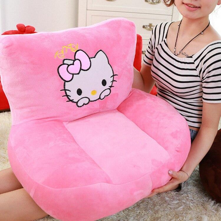 8c6e8173c3 Creative Plush Toy Mini Doraemon Hello Kitty Children s Sofas Cartoon Couch  Baby Furniture Small Sofa Kids