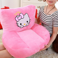 Creative Plush Toy Mini Doraemon Hello Kitty Children's Sofas Cartoon Couch Baby Furniture Small Sofa Kids Chair Floor Toys
